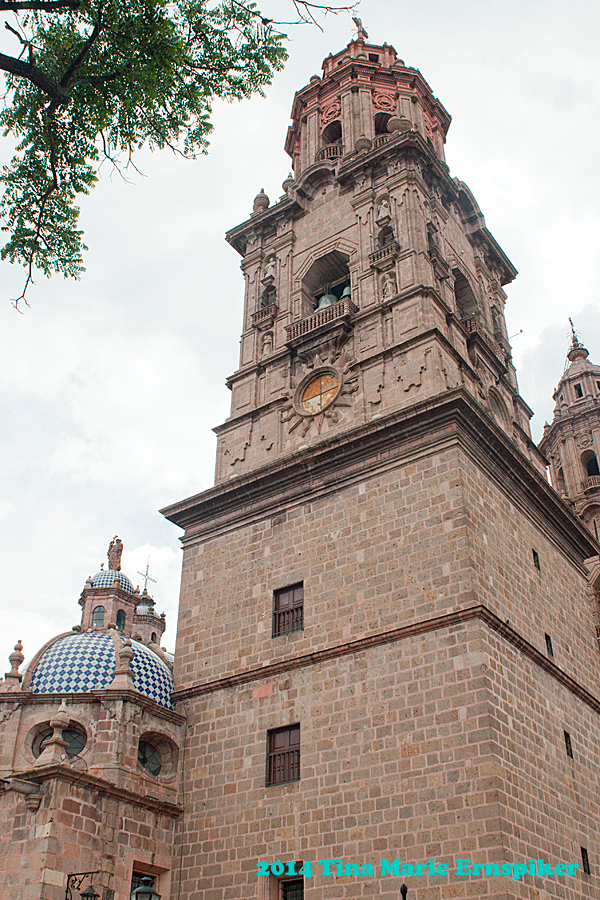 Downtown Morelia Mexico
