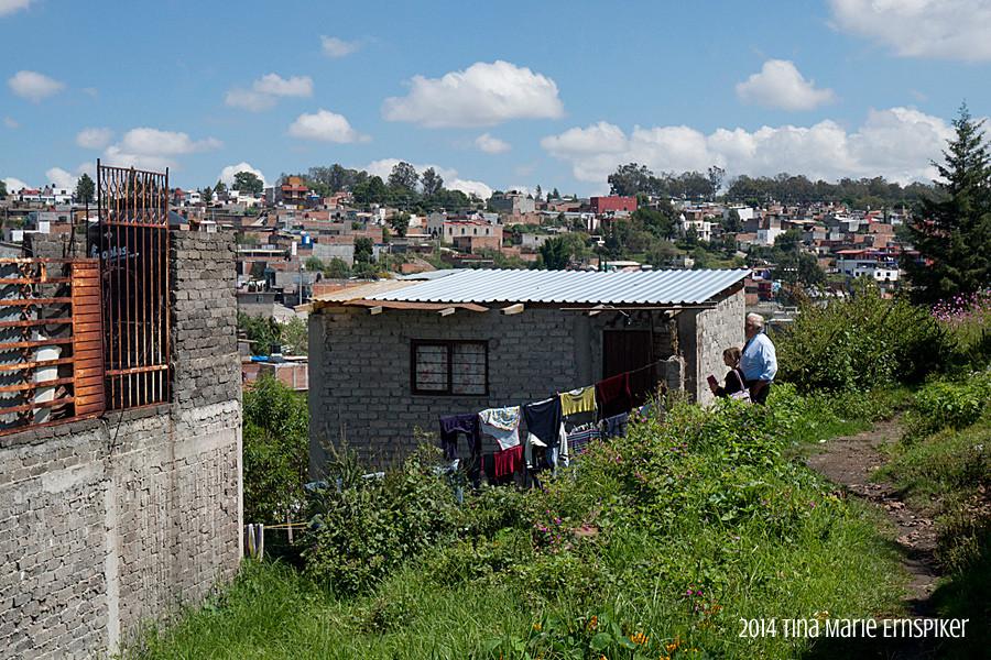 Humble home in Morelia