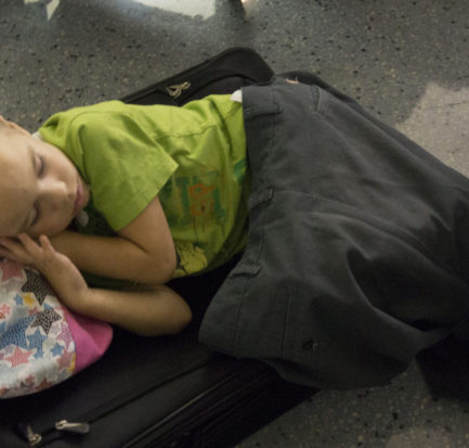 The Unforgettable Night We Slept at Dallas Airport