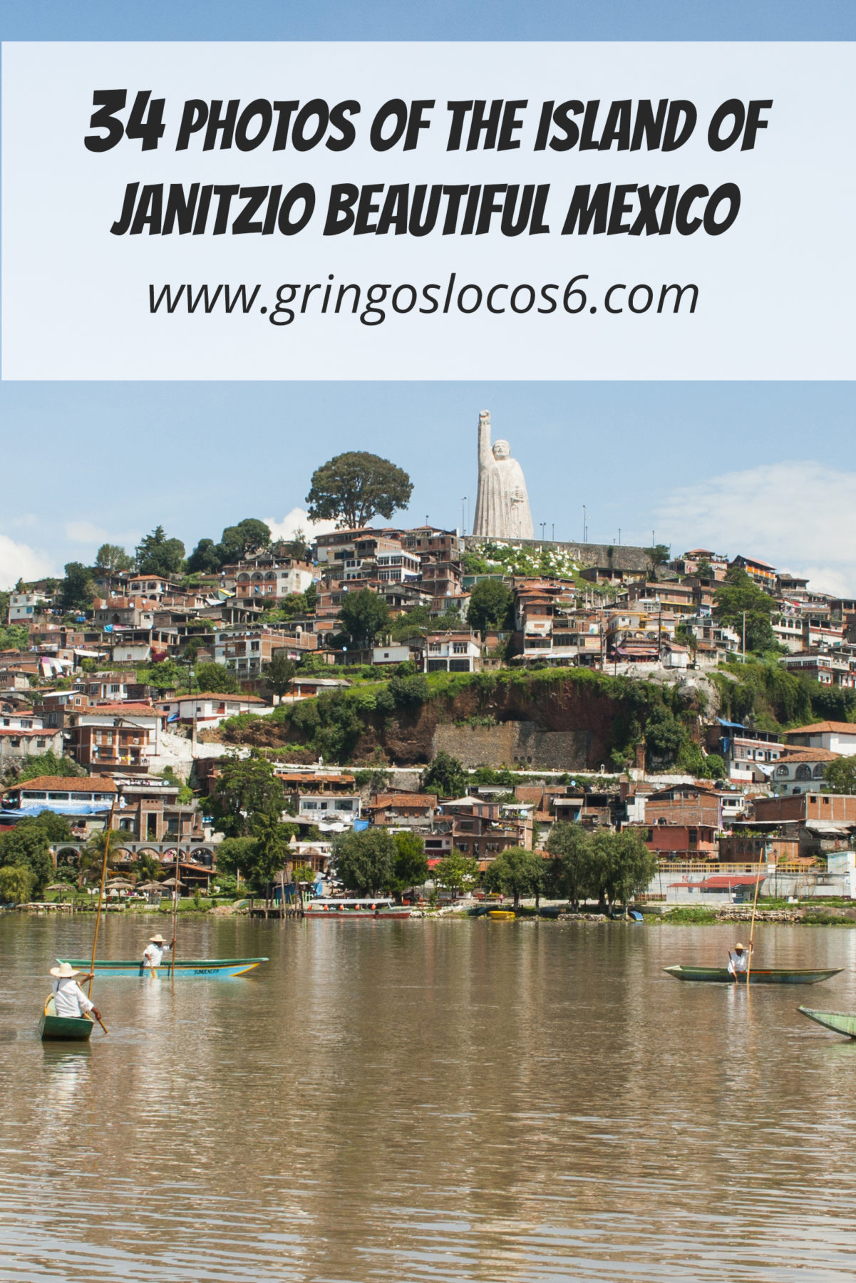 Janitzio is a beautiful little island located in Lake Patzcuaro in Michoacan, Mexico.