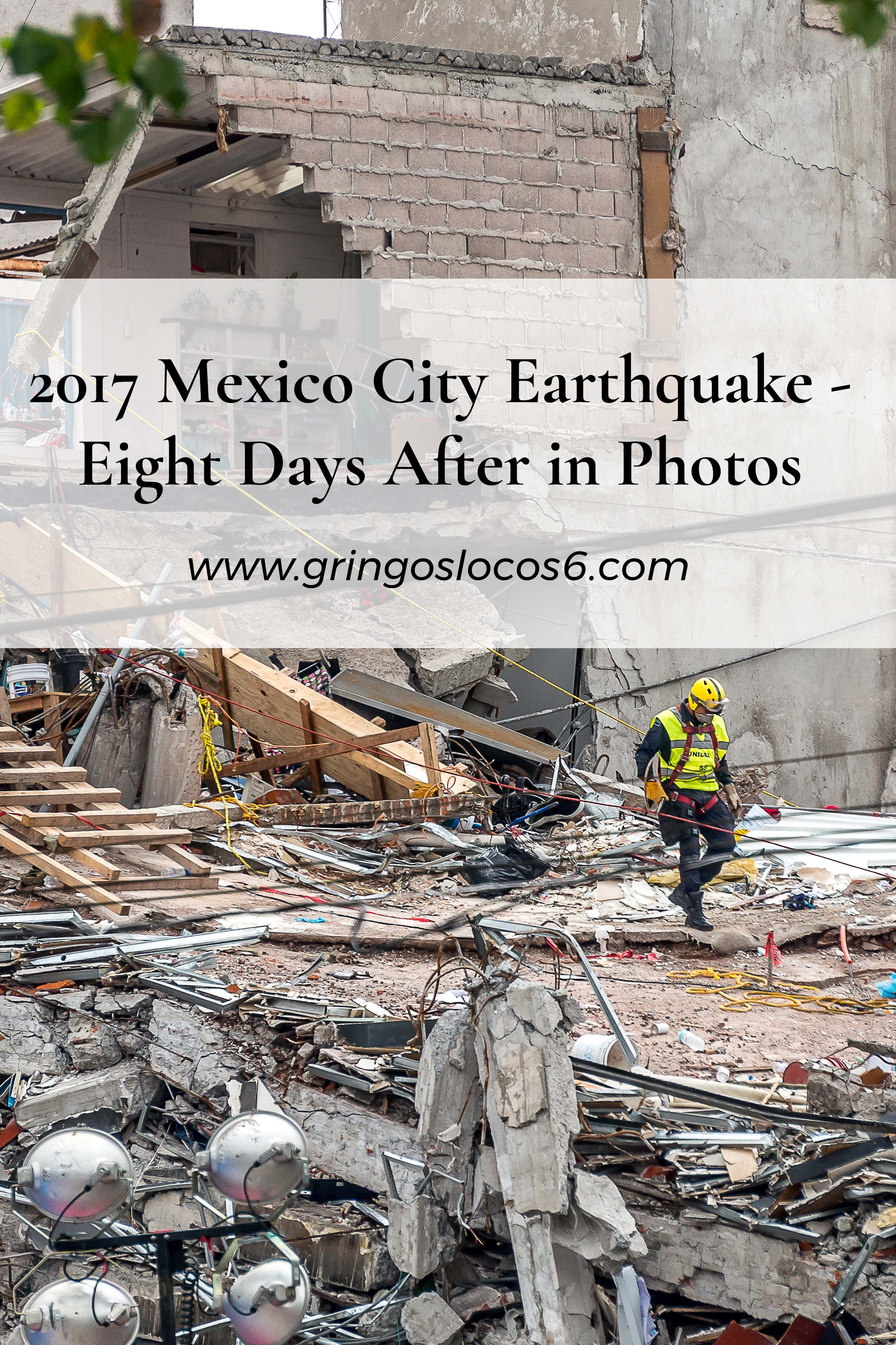 We had a medical trip scheduled a week after the Mexico City earthquake. Some of the destruction I saw was incomprehensible. For me, this was all new.