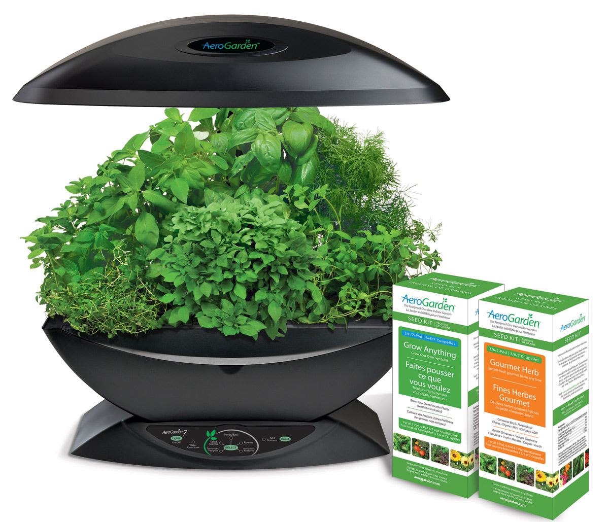 Countertop Herb Garden Kit : -output countertop garden that produces an abundance of fresh herbs ...