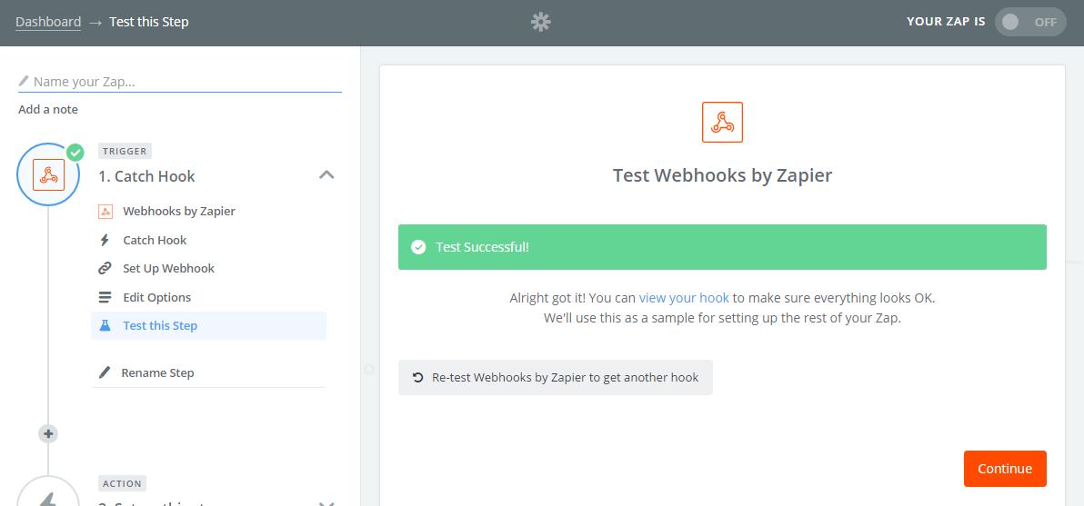 Webhooks Test