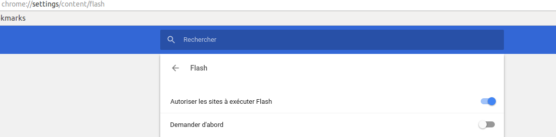 Comment activer Adobe Flash Player ?