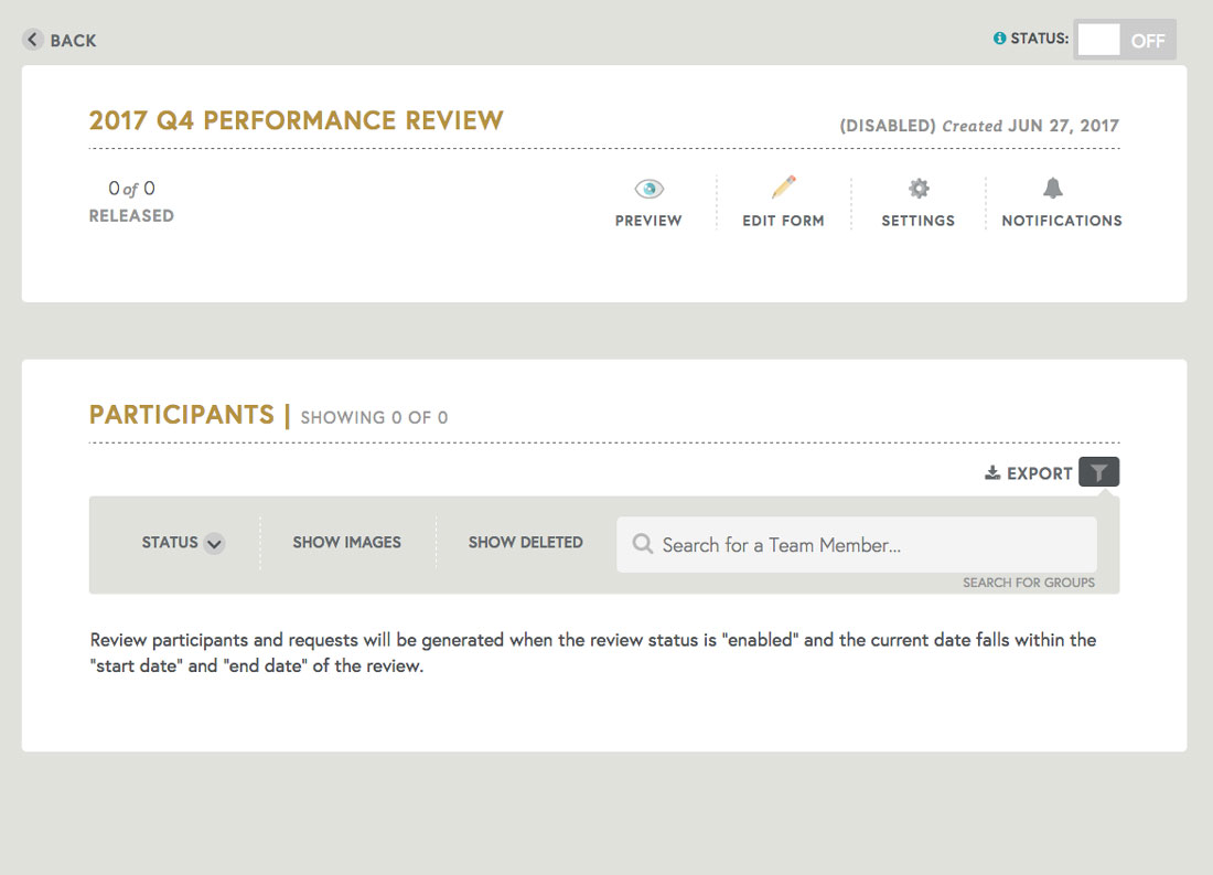free employee performance review template tracking employee performance