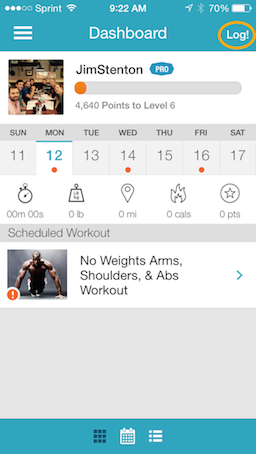 how do i delete an exercise from the workout logger in the exercise