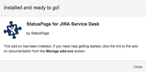 Jira Service Desk Integration Statuspage Io