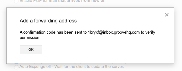 Forwarding an Alias from Gmail