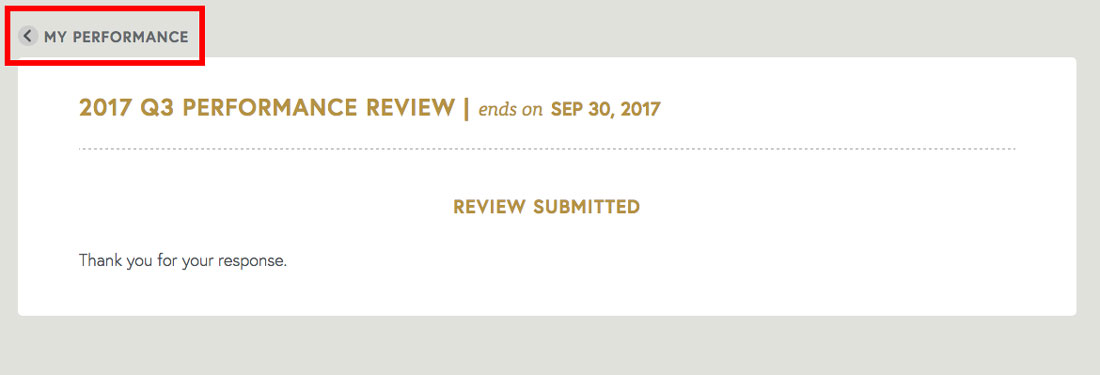 free employee review software review completion page