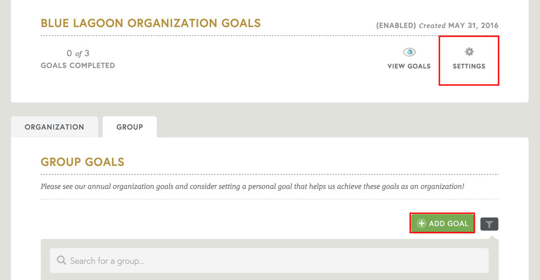 employee engagement software that allows for employee goal setting