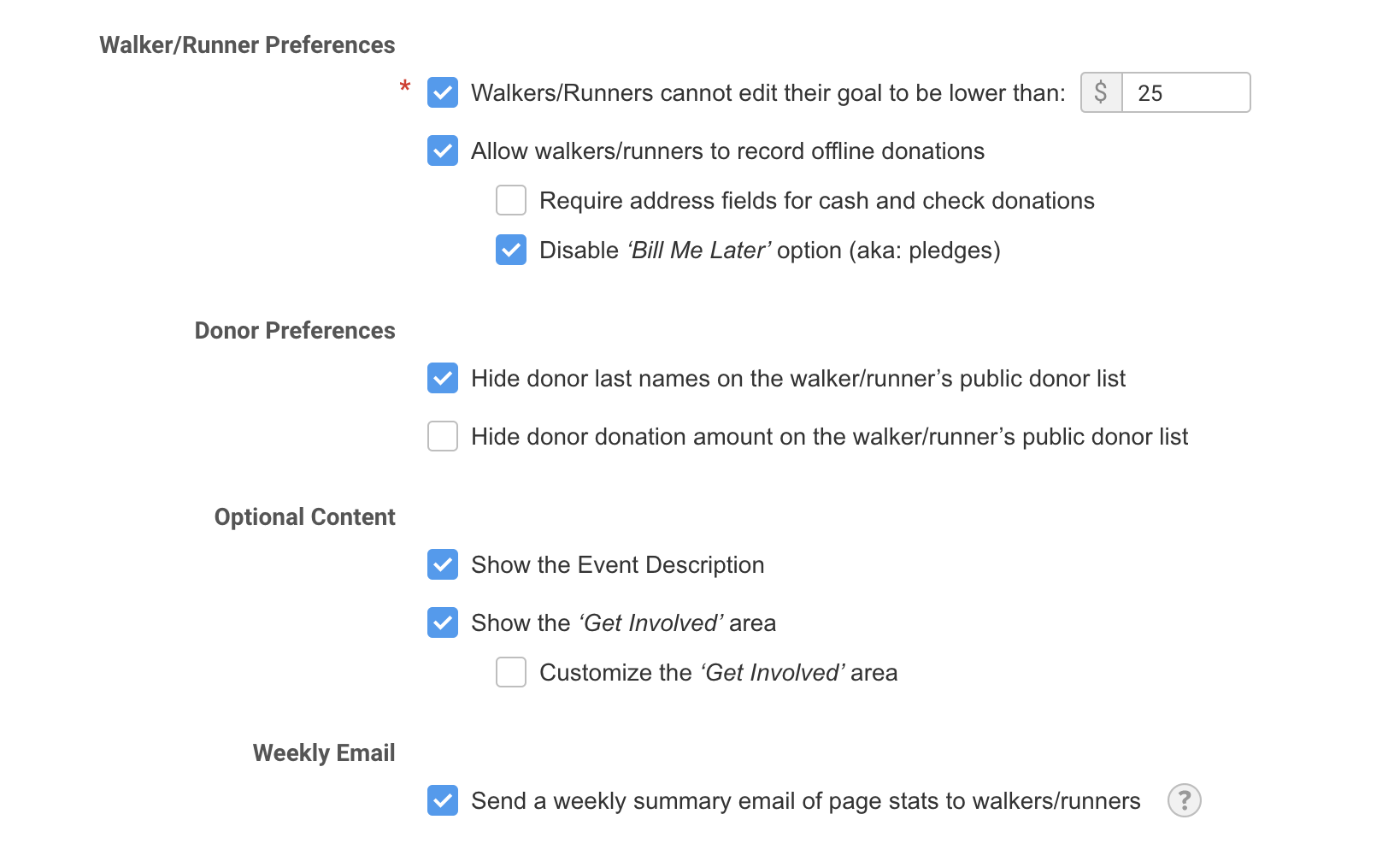 FundEasy Page Settings   Ministry Sync (Beta)