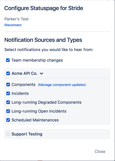 Configure Notifications