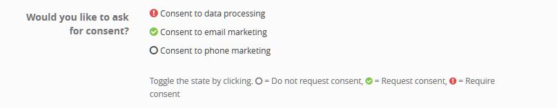 Honeypot consent requests