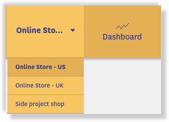 combine stores recent sales app