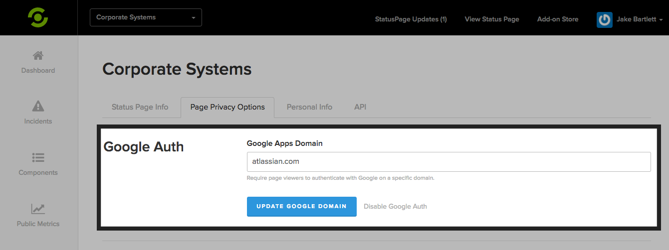 Google Auth Page Viewers