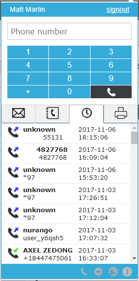 Chrome Click-2-Call Plugin