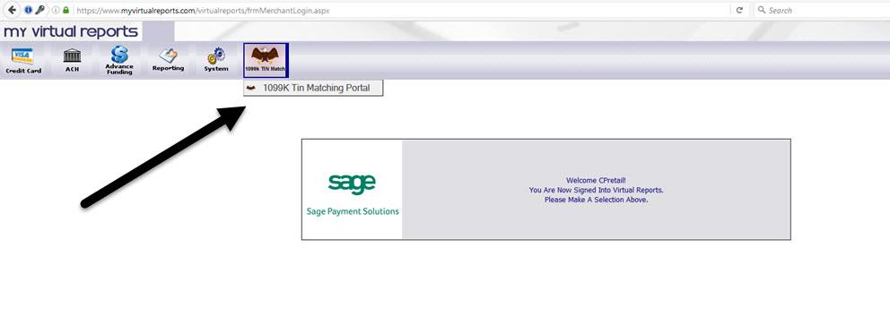 sage virtual reports