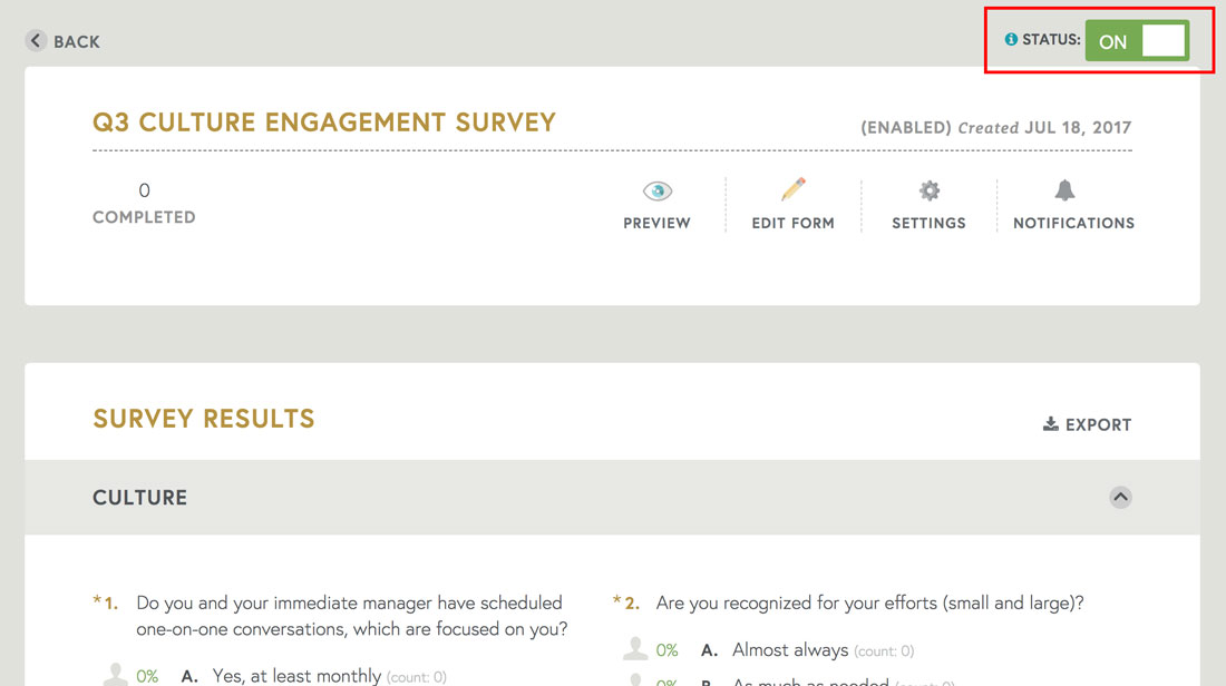 Creating And Enabling An Employee Engagement Survey  Teamphoria