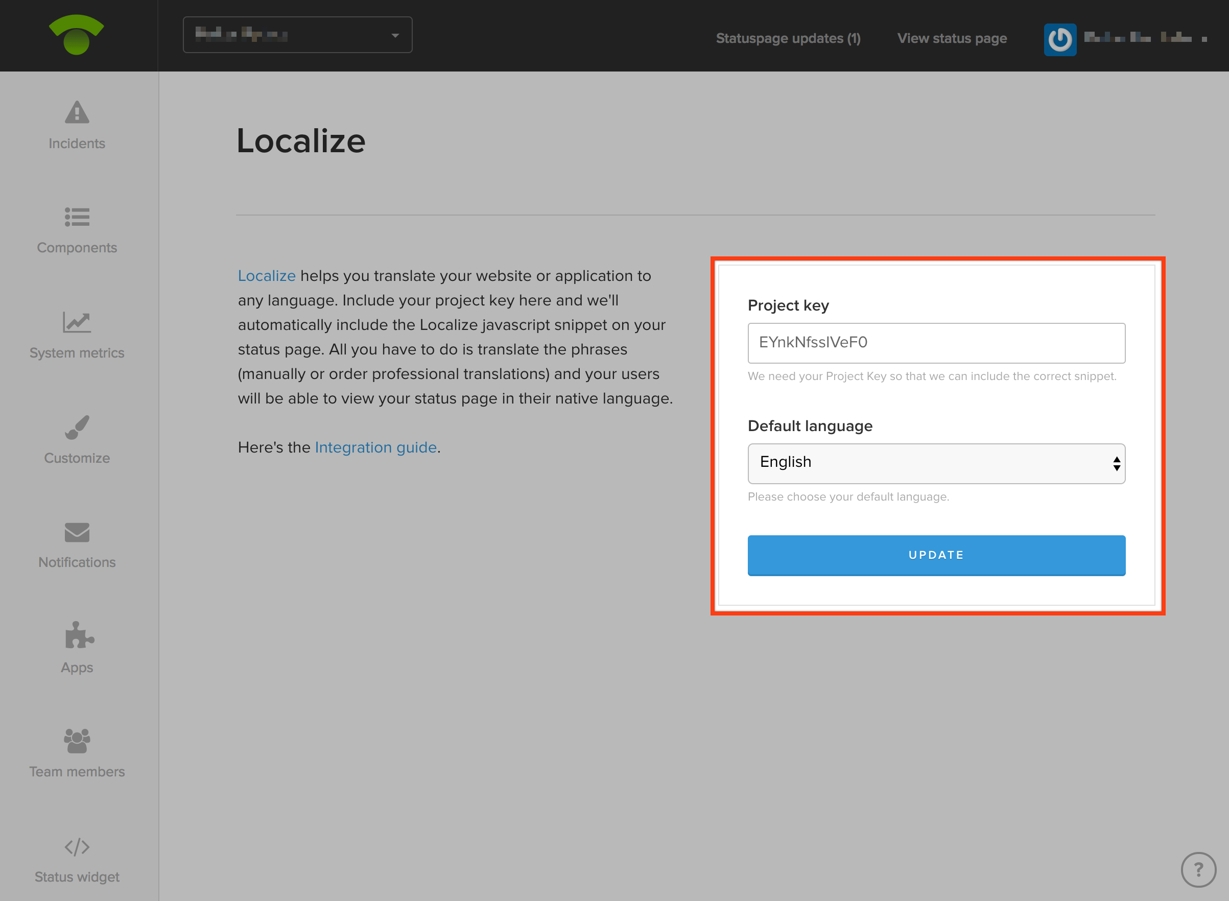 Translate Your Page With Localize