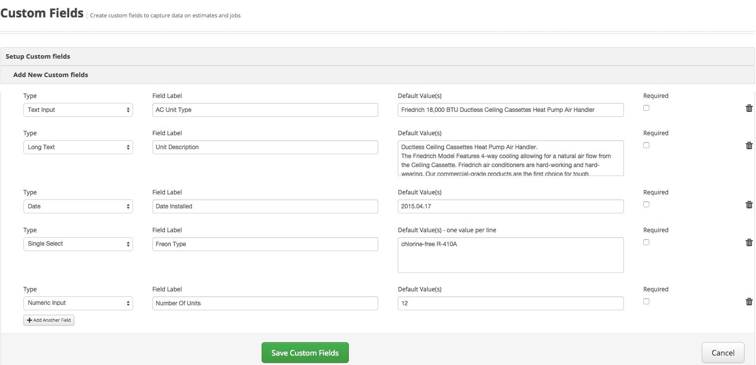 knowledge base servicefusion now when you create an estimate or job there will be a new field