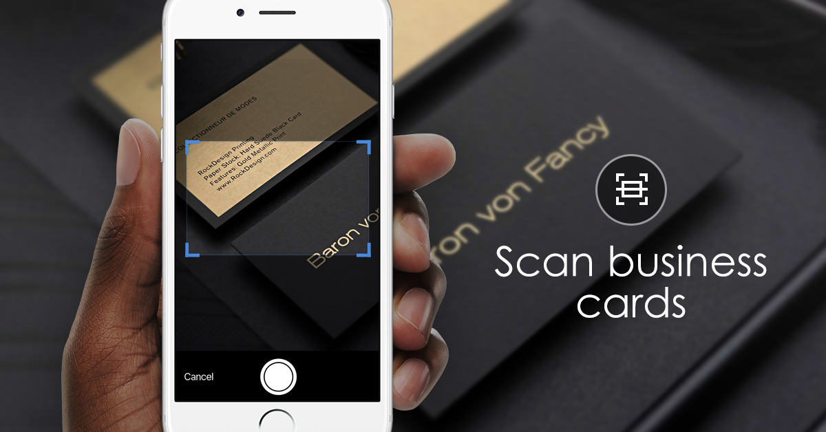 business card scanning scan business cards and get all the details straight into your address book