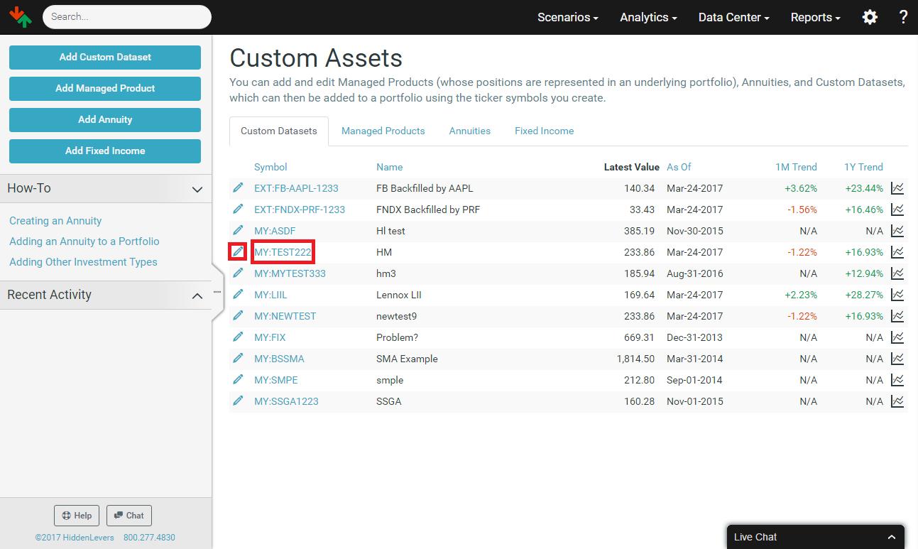 How To Create A Custom Asset Hiddenlevers Knowledge Base