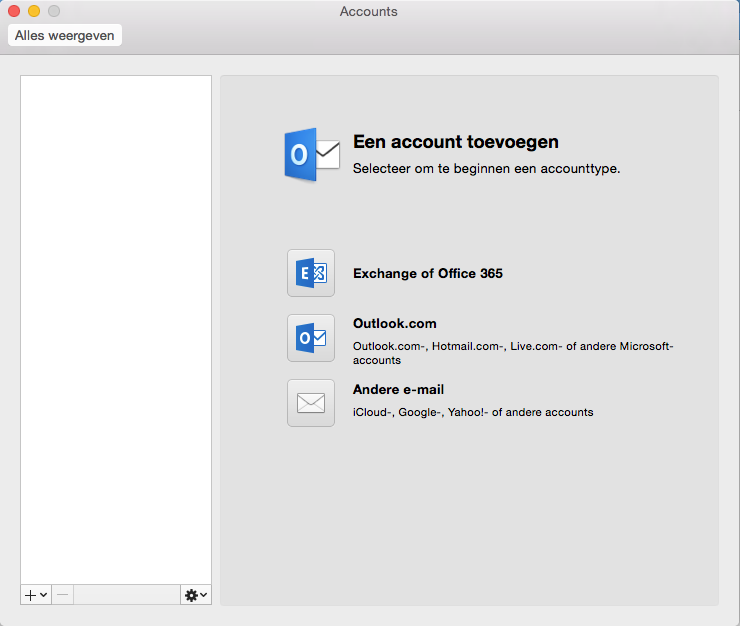 07f31f294be637 Hoe stel ik mijn e-mailaccount in bij Outlook 2016 op mijn Mac?