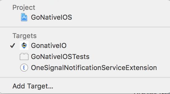 OneSignalNotificationServiceExtension requires a