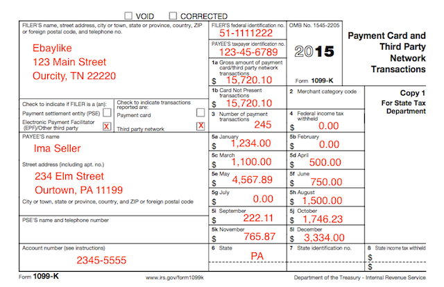 Irs Reporting What Is A 1099 K Form Can I Access It Online Cash