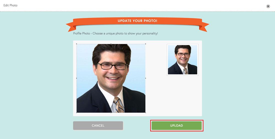 employee engagement software photo upload