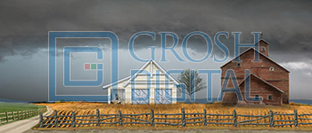 Kansas Farm Projected Backdrop for