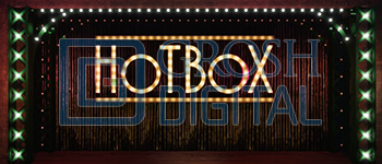 Hot Box Projected Backdrop for