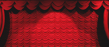 Red Austrian Puff Projected Backdrop for 42nd Street, A Christmas Carol, Addams Family, Aladdin, Alice in Wonderland, Annie, Annie Get Your Gun, Beauty and the Beast, Big Fish, Brigadoon, Bye Bye Birdie, Charlie and the Chocolate Factory, Cinderella, Coppelia, Crazy for You, Damn Yankees, Elf the Musical, Fiddler on the Roof, Footloose, Frozen, Giselle, Grease, Guys and Dolls, Hairspray, High School Musical, How to Succeed in Business, In the Heights, Into the Woods, Joseph and the Amazing..., Legally Blonde, Les Miserables, Lion King, Little Mermaid, Little Shop of Horrors, Madagascar, Mamma Mia, Mary Poppins, Moana, Music Man, My Fair Lady, Newsies, Nutcracker, Oklahoma, Pajama Game, Peter Pan, Seussical, Seven Brides for Seven Brothers, Show Curtains, Shrek, Sleeping Beauty, Sound of Music, Thoroughly Modern Millie, West Side Story, Wizard of Oz