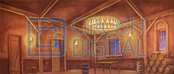 Tavern Projected Backdrop for