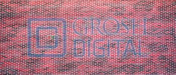 Brickwall Projected Backdrop for 42nd Street, Annie, Exteriors, Guys and Dolls, High School Musical, How to Succeed in Business, In the Heights, Little Shop of Horrors, Newsies, West Side Story