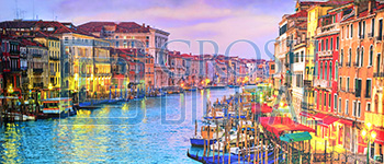 Venice Projected Backdrop for Towns, Travel, Villages