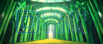 Emerald City Interior Projected Backdrop for Interiors, Wizard of Oz