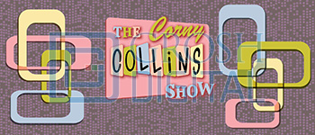 Corny Collins Show Projected Backdrop for