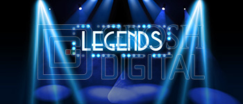 Legends 2 Projected Backdrop for Abstract, Dance