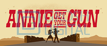 Annie Get Your Gun Show Curtain Projected Backdrop for