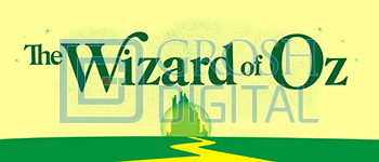 Wizard of Oz Classic Show Curtain Projected Backdrop for
