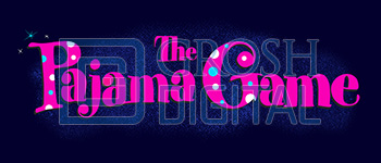Pajama Game Show Curtain Projected Backdrop for Pajama Game, Show Curtains