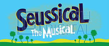 Seussical Show Curtain Projected Backdrop for Seussical, Show Curtains