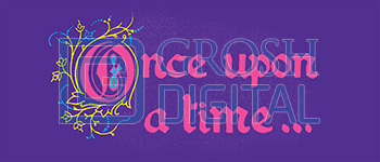 Once Upon a Time Projected Backdrop for Alice in Wonderland, Cinderella, Little Mermaid, Show Curtains, Sleeping Beauty