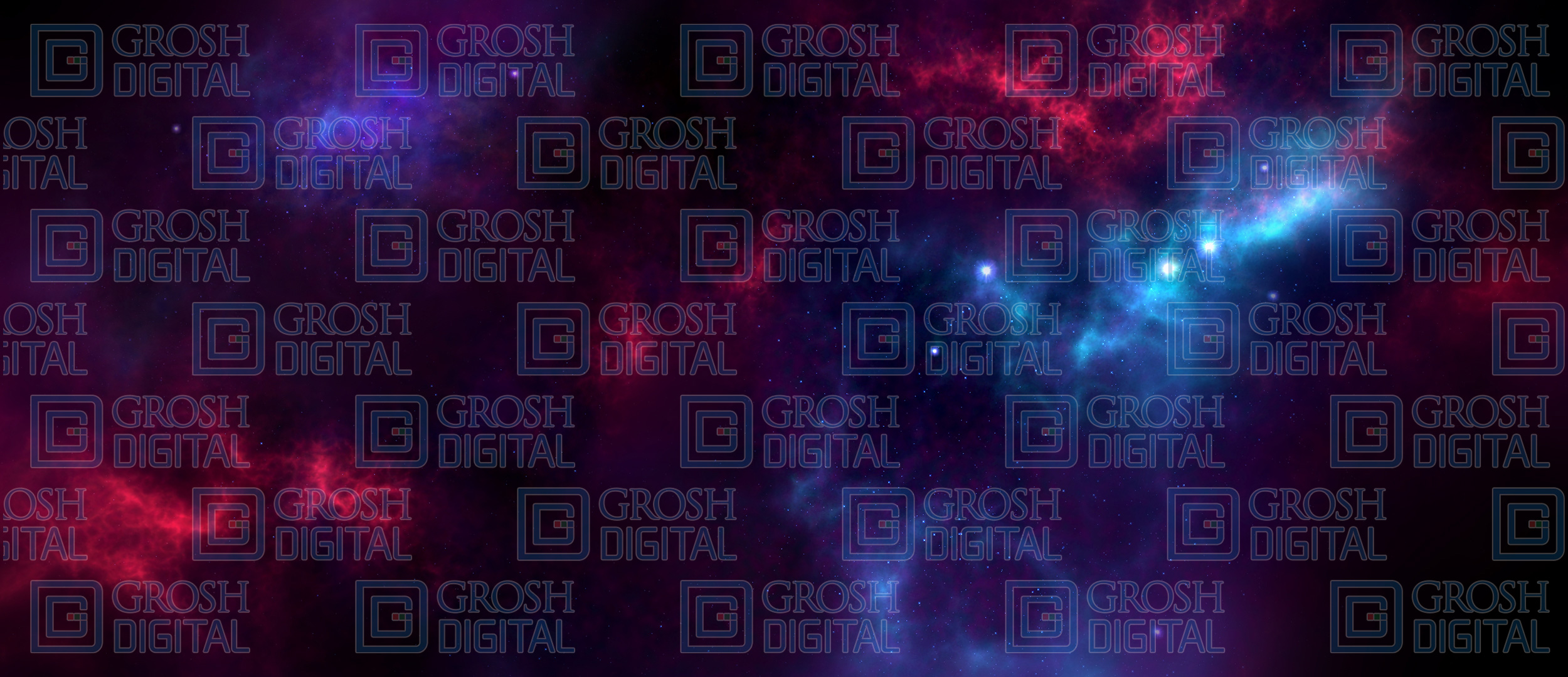 Space Nebula Projected Backdrop for Abstract, Dance, Skies