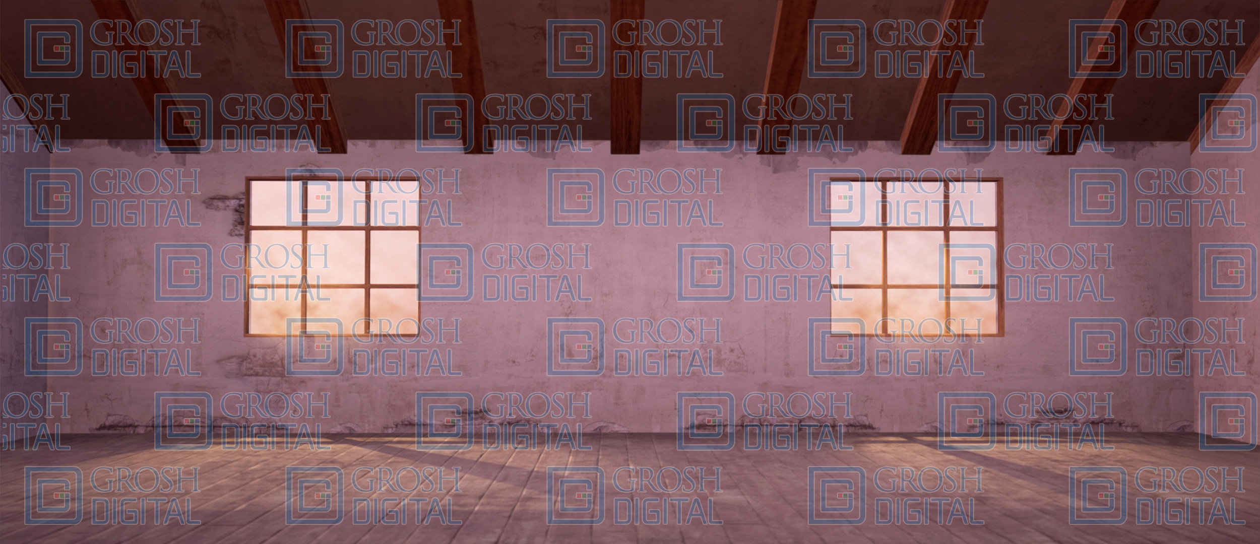 Orphanage Interior Projected Backdrop for Annie, Cinderella, Coppelia, Interiors, Newsies