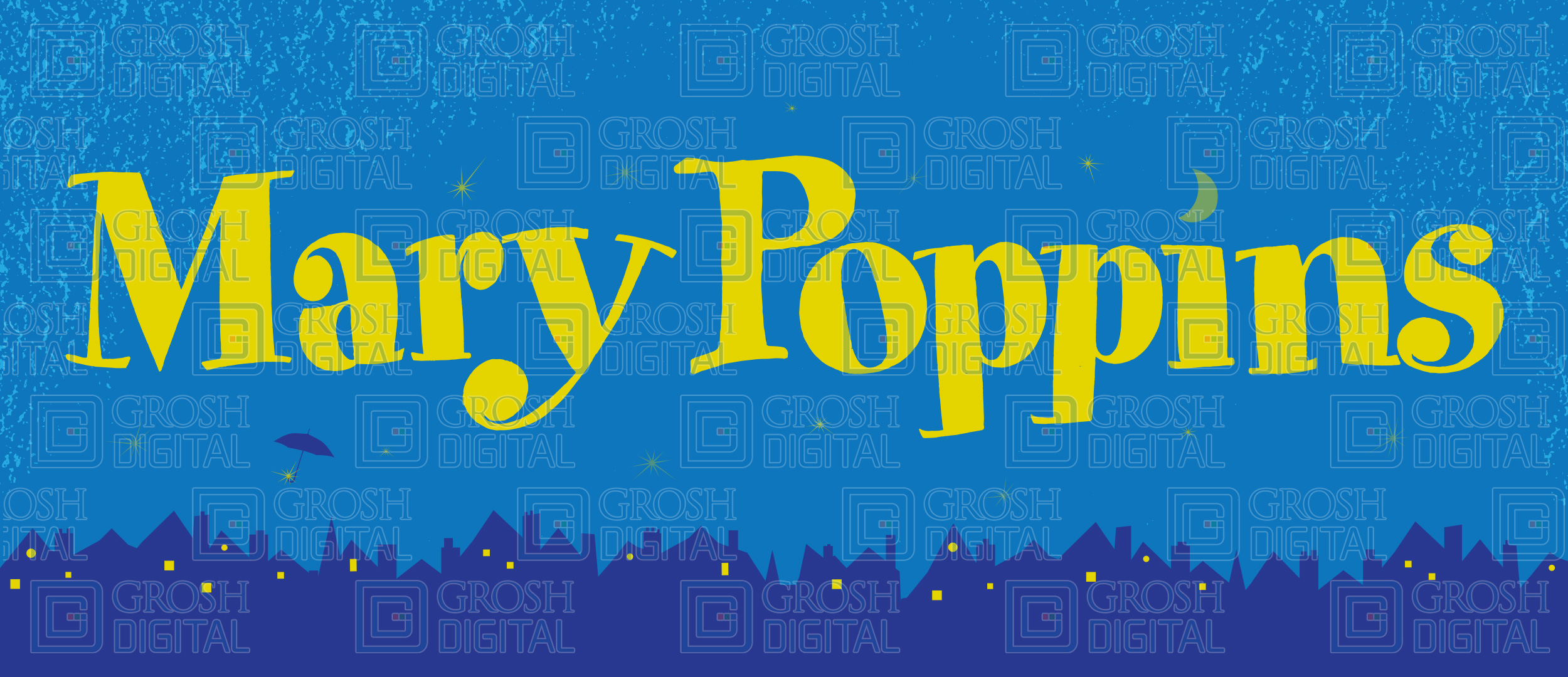 Mary Poppins Show Curtain Projected Backdrops Grosh Digital