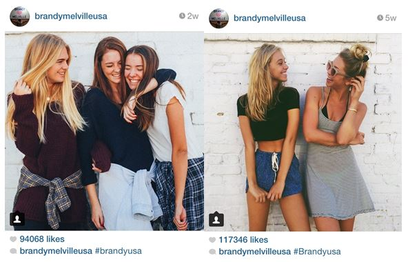 1875d62b5cdf ... clothes) look just like the models. brandy melville instagram  screenshots