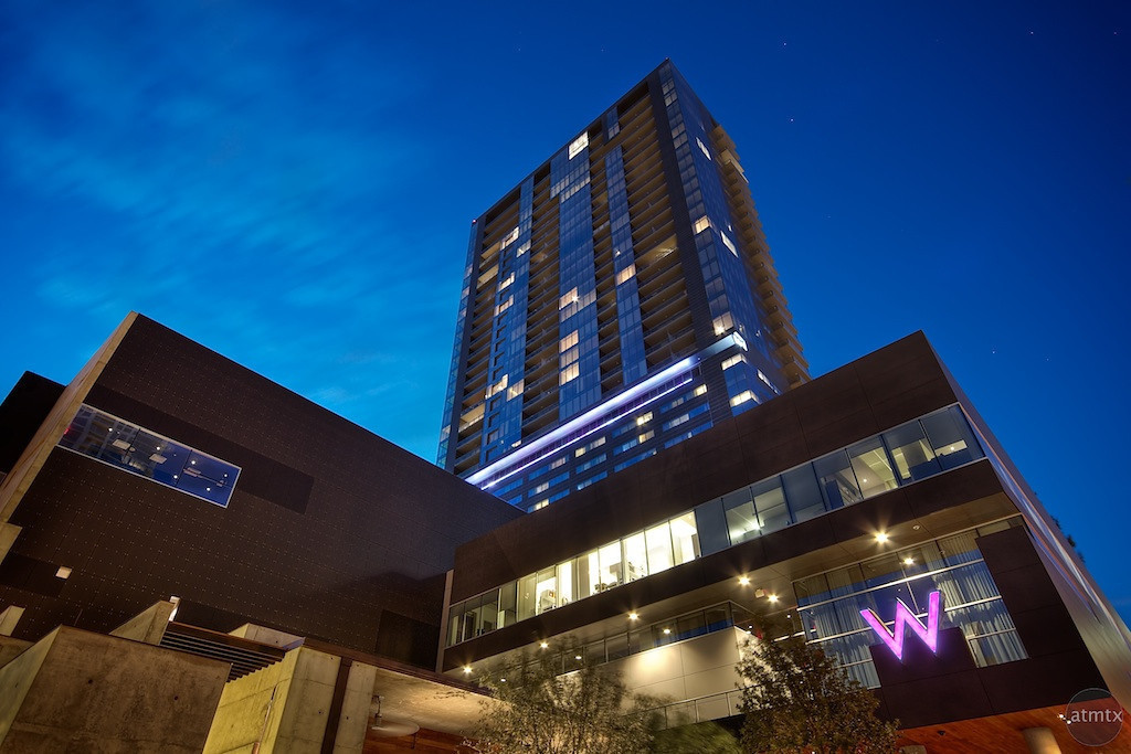 The W Hotels in Austin Texas. W Hotels are a subsidiary of Starwood Hotels. | Photo via Flickr user ATMTX.