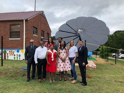 Solar in Bloom at LaGrange Housing Authority
